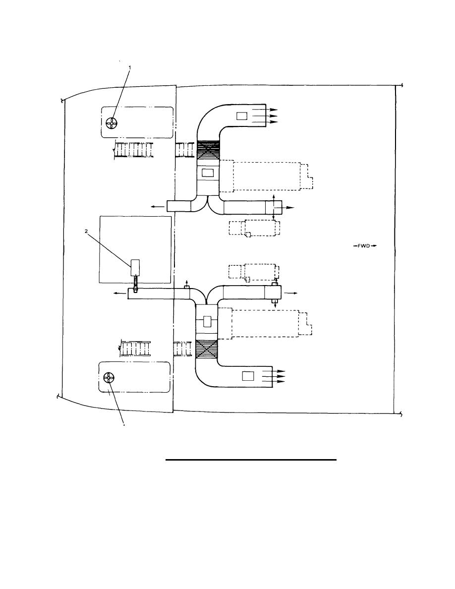 Figure 1 26 ventilation ducting engine room sheet 1 of 6 for Room ventilation design
