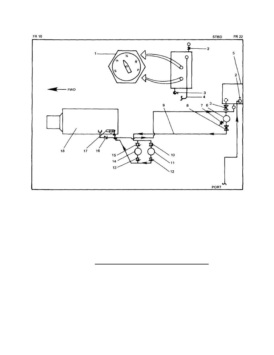 Figure 1 34 Bow Thruster Engine Fuel Oil Service Piping